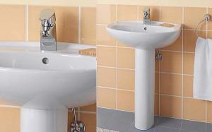 immobilier travaux installer un lavabo sur colonne immobilier travaux. Black Bedroom Furniture Sets. Home Design Ideas