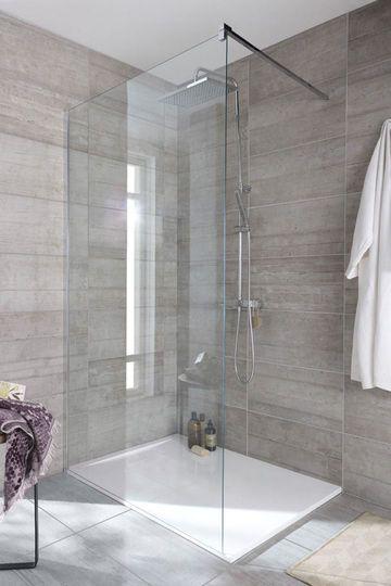 Immobilier travaux installer receveur douche r nover salle de bain cra - Travaux douche italienne ...