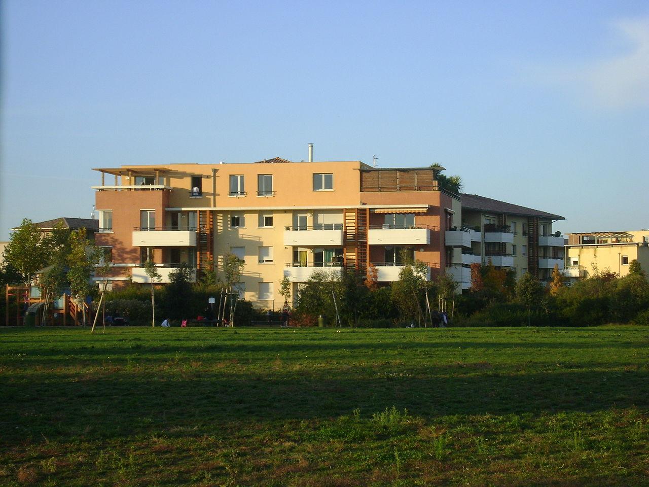 De nombreux logements ont été construits dernièrement à Toulouse Borderouge.