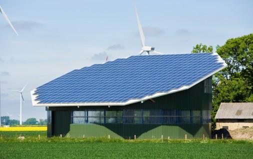 hangar solaire agricole