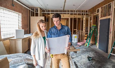 couple maison construction plans